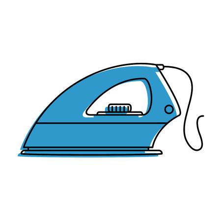 Vêtements de fer appliance icône vector illustration design Banque d'images - 85042953
