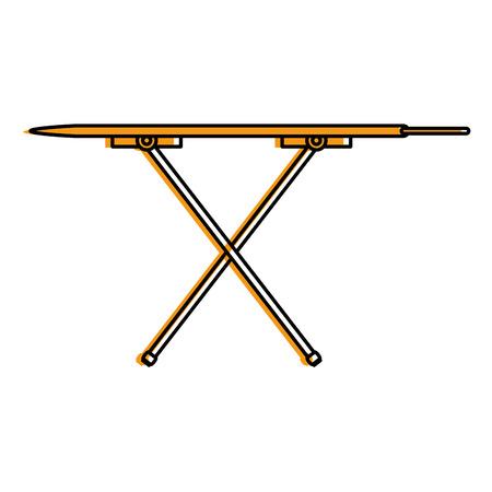 strijkplank geïsoleerde pictogram vectorillustratieontwerp