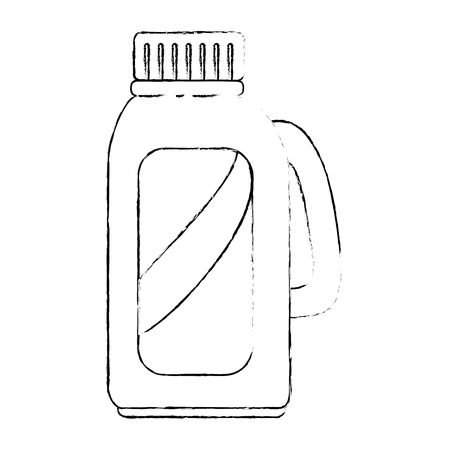 Limpiador botella de productos de lavandería ilustración vectorial diseño Foto de archivo - 85031803