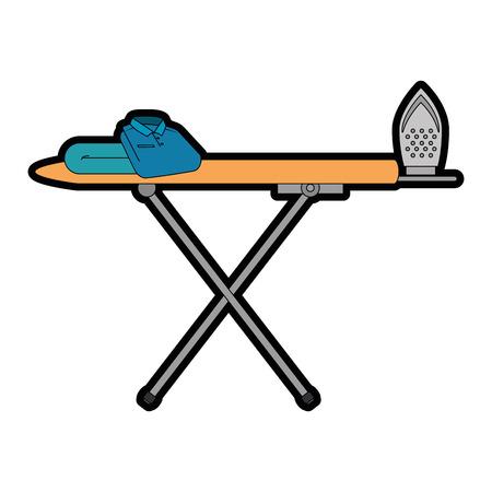 ironing board isolated icon vector illustration design Stock Photo
