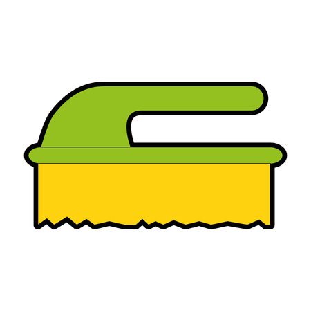 handle brush cleaner icon vector illustration design Stock fotó - 85030846