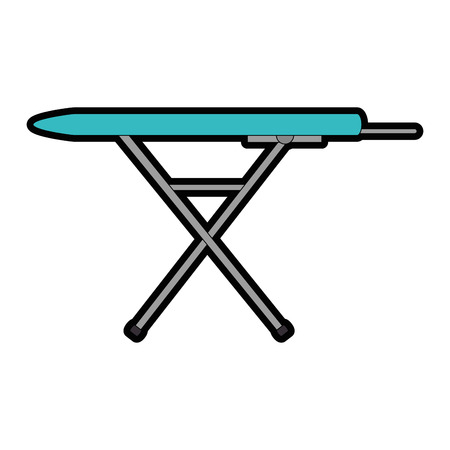 Ironing board isolated icon vector illustration design