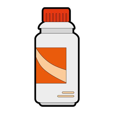 Cleaner bottle laundry product vector illustration design
