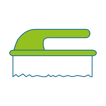 handle brush cleaner icon vector illustration design Stock fotó - 85043310
