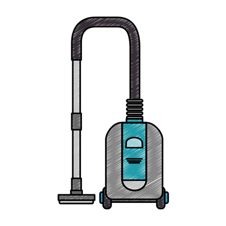 vacuum appliance isolated icon vector illustration design