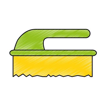 handle brush cleaner icon vector illustration design Stock fotó - 85043341
