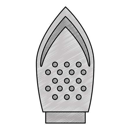 鉄の服アプライアンス アイコン ベクトル イラスト デザイン