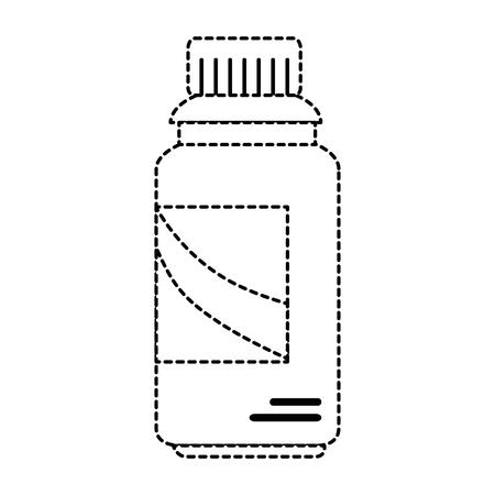 Limpiador botella de productos de lavandería ilustración vectorial diseño Foto de archivo - 85030259