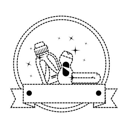 Diseño del ejemplo del vector del emblema de los productos del lavadero de las botellas Foto de archivo - 85031858