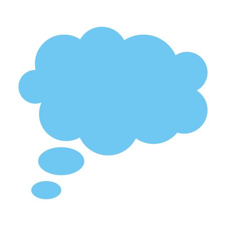 dream cloud isolated icon vector illustration design Illustration