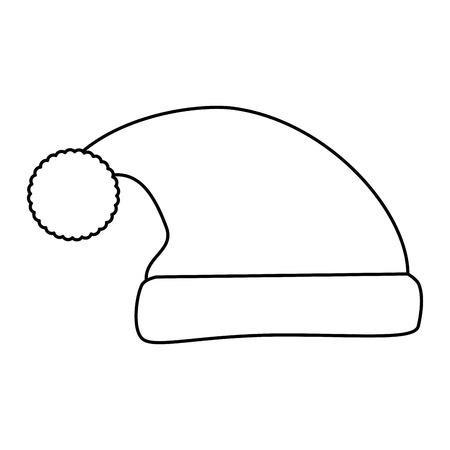 Cappello addormentato isolato icona illustrazione vettoriale di progettazione Archivio Fotografico - 85030877