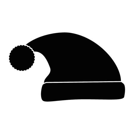 자고 모자 아이콘 벡터 일러스트 디자인 절연