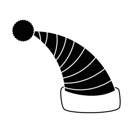Cappello da letto isolato icona illustrazione vettoriale illustrazione Archivio Fotografico - 85030931