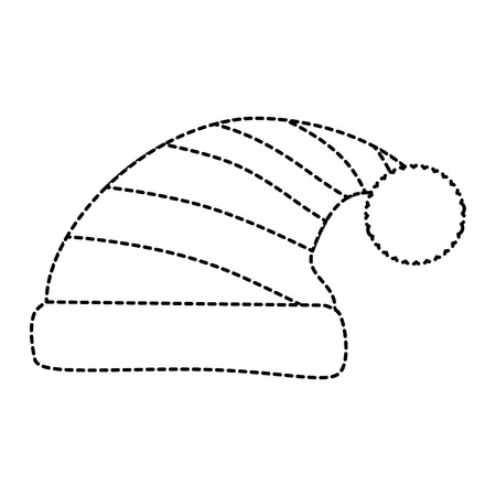 sleeping hat isolated icon vector illustration design Ilustração