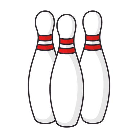 bowling sport icon vector illustration design vector illustration design Ilustração