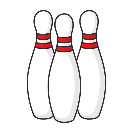 bowling sport icon vector illustration design vector illustration design Illustration