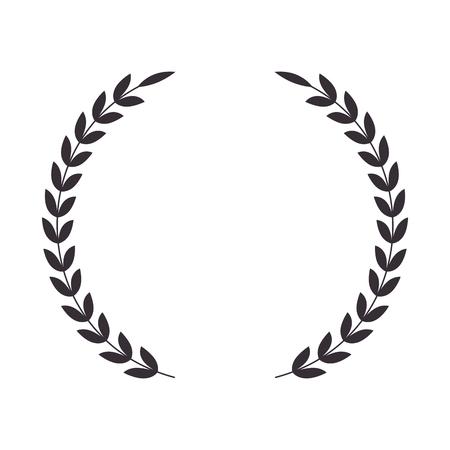 wreath crown isolated icon vector illustration design Vektoros illusztráció