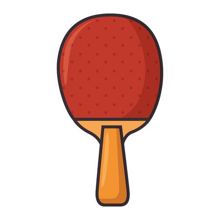 tennis table racket sport icon vector illustration design Illustration