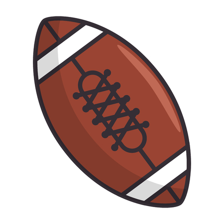 american football balloon emblem vector illustration design