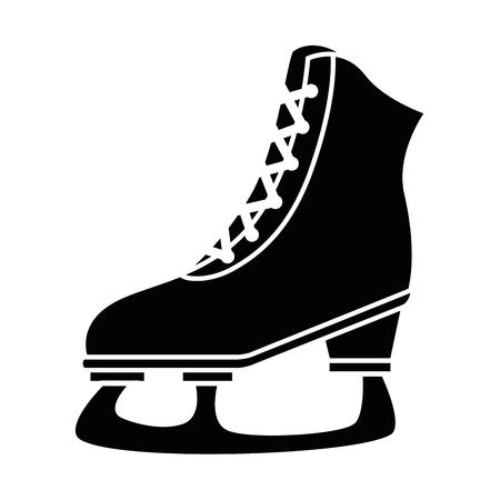 ice skates isolated icon vector illustration design Stok Fotoğraf - 85070673