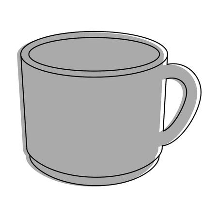 kopje chocolade icoon vector illustratie grafisch ontwerp