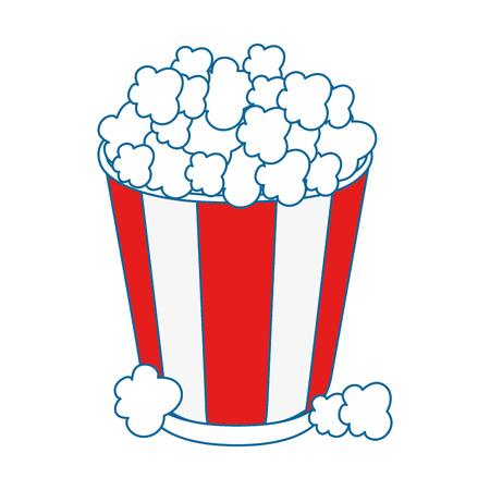 crunchy: popcorn paper glass icon vector illustration graphic design Illustration