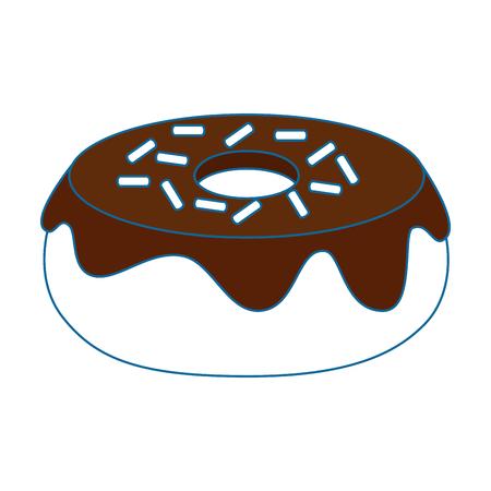 glazed donuts illustration icon vector illustration graphic design Illustration