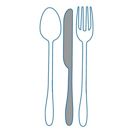 カトラリー料理ベクトル アイコン ベクトル イラスト グラフィック デザイン  イラスト・ベクター素材