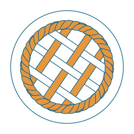 pie cirvle vector icon vector illustration graphic design