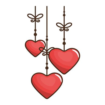 hart valentijn liefde pictogram, vector illustratie, grafisch, ontwerp
