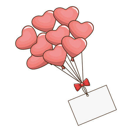 floating: heart valentine love icon, vector illustration, graphic, design