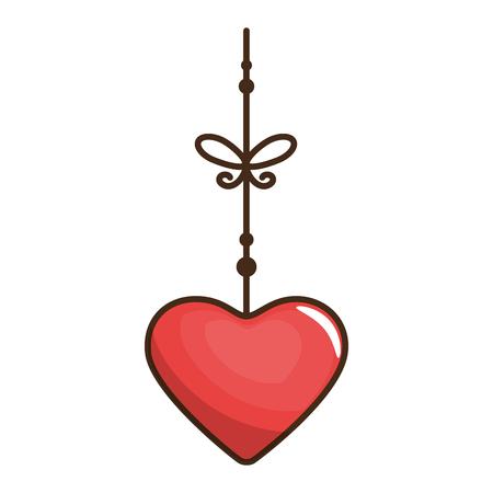 심장 발렌타인 사랑 아이콘, 벡터 일러스트 레이 션, 그래픽, 디자인