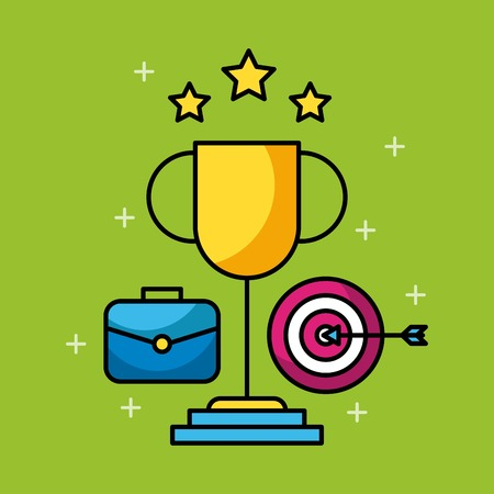 Set of business and finance icons web app image vector illustration Illustration