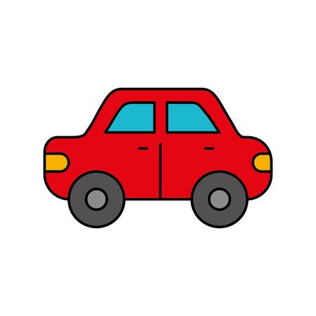 カーサイドビュー自動車用モータービークルベクターイラスト