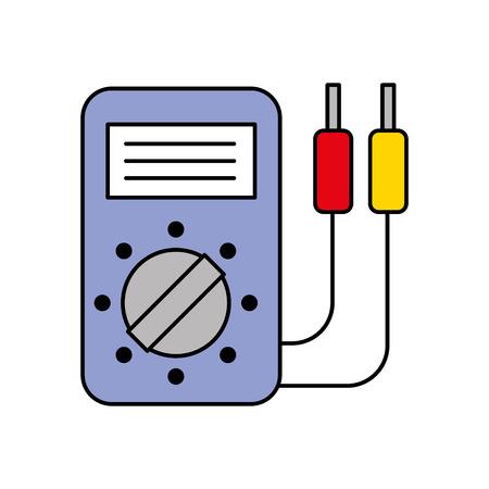 車バッテリー テスター アプライアンス測定力ベクトル図