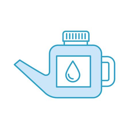 L'essence de bidon de carburant peut gérer l'illustration de vecteur de goutte Banque d'images - 85131566