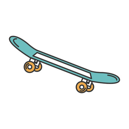 skate board isolated icon vector illustration design Zdjęcie Seryjne - 85131237