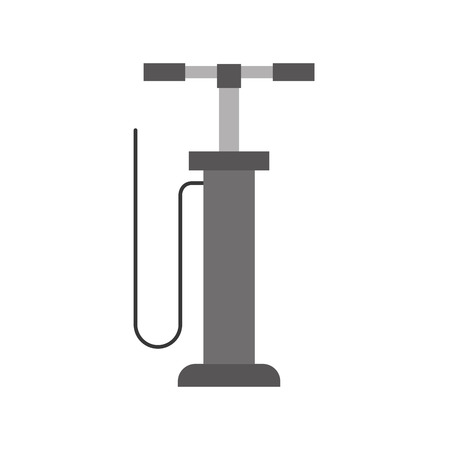 hand pump auto service car repair pressure vector illustration Çizim