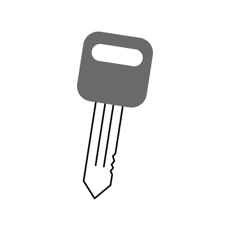 car key auto service repair isolated icon on white background