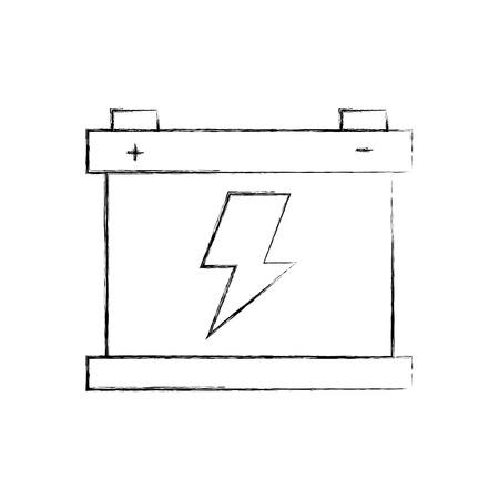 車バッテリー アキュムレータ エネルギー動力や電力のアイコン ベクトル図 写真素材 - 85132049