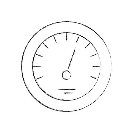 Illustrazione di vettore di velocità di velocità di distanza di distanza di distanza di distanza Archivio Fotografico - 85131994