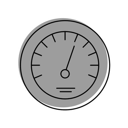 Illustrazione di vettore di velocità di velocità di distanza di distanza di distanza di distanza Archivio Fotografico - 85132150