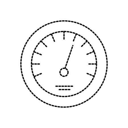 Illustrazione di vettore di velocità di velocità di distanza di distanza di distanza di distanza Archivio Fotografico - 85132694