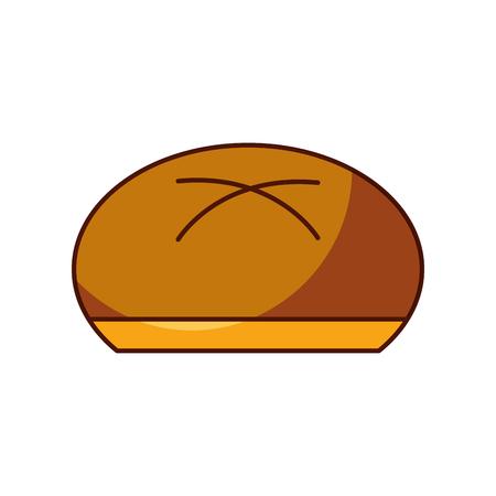 全体パン ベーカリー製品食品新鮮なベクトル図
