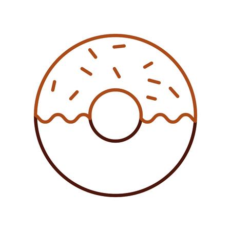 도넛 디저트 과자 제품 음식 신선한 벡터 일러스트 레이션