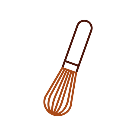 hand mixer kitchen utensil cooking vector illustration