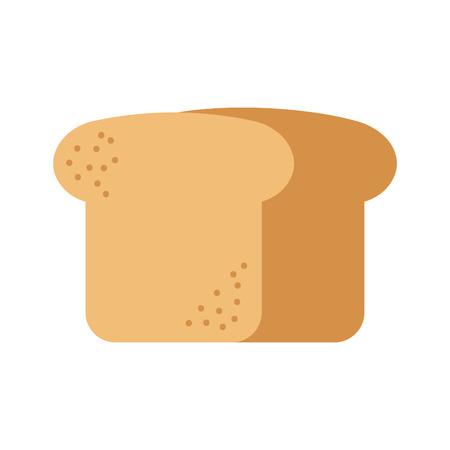 パン小麦フレッシュベーカリーペストリー製品食品ベクターイラスト