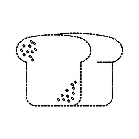 パン小麦フレッシュ ベーカリー ペストリー製品食品ベクトル図  イラスト・ベクター素材