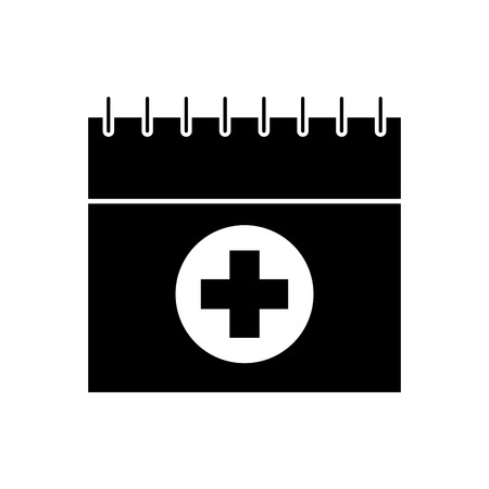 appointment icon such as medical day calendar vector illustration 版權商用圖片 - 85136763