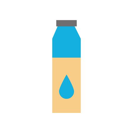 ボトル液体薬剤薬局概念ベクトル図